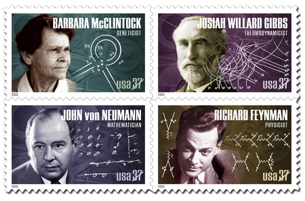 scientist stamps